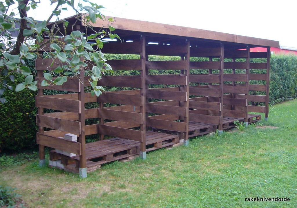 TerrassenUberdachung Holz Gebraucht ~ Holz Unterstand Aufbauen Pictures to pin on Pinterest